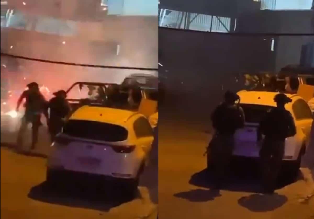 """فيديو يكشف جُبن جنود الإحتلال في مواجهات القدس .. """"أوهن من بيت العنكبوت""""!"""