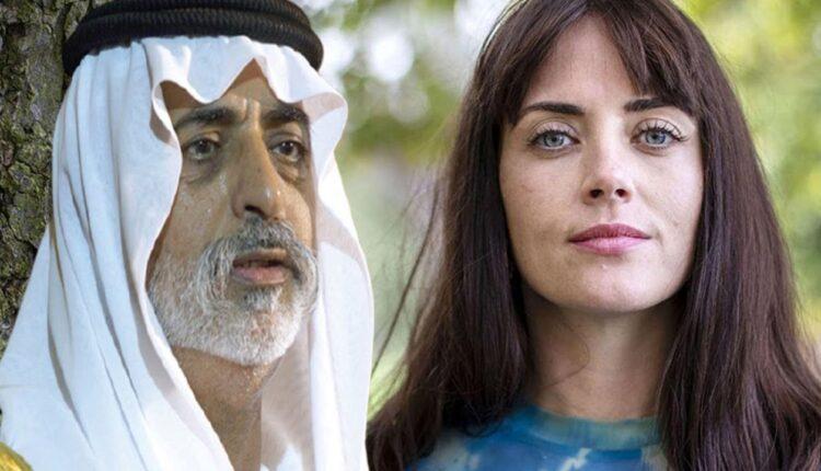 وزير التسامح الاماراتي نهيان بن مبارك والموظفة البريطانية