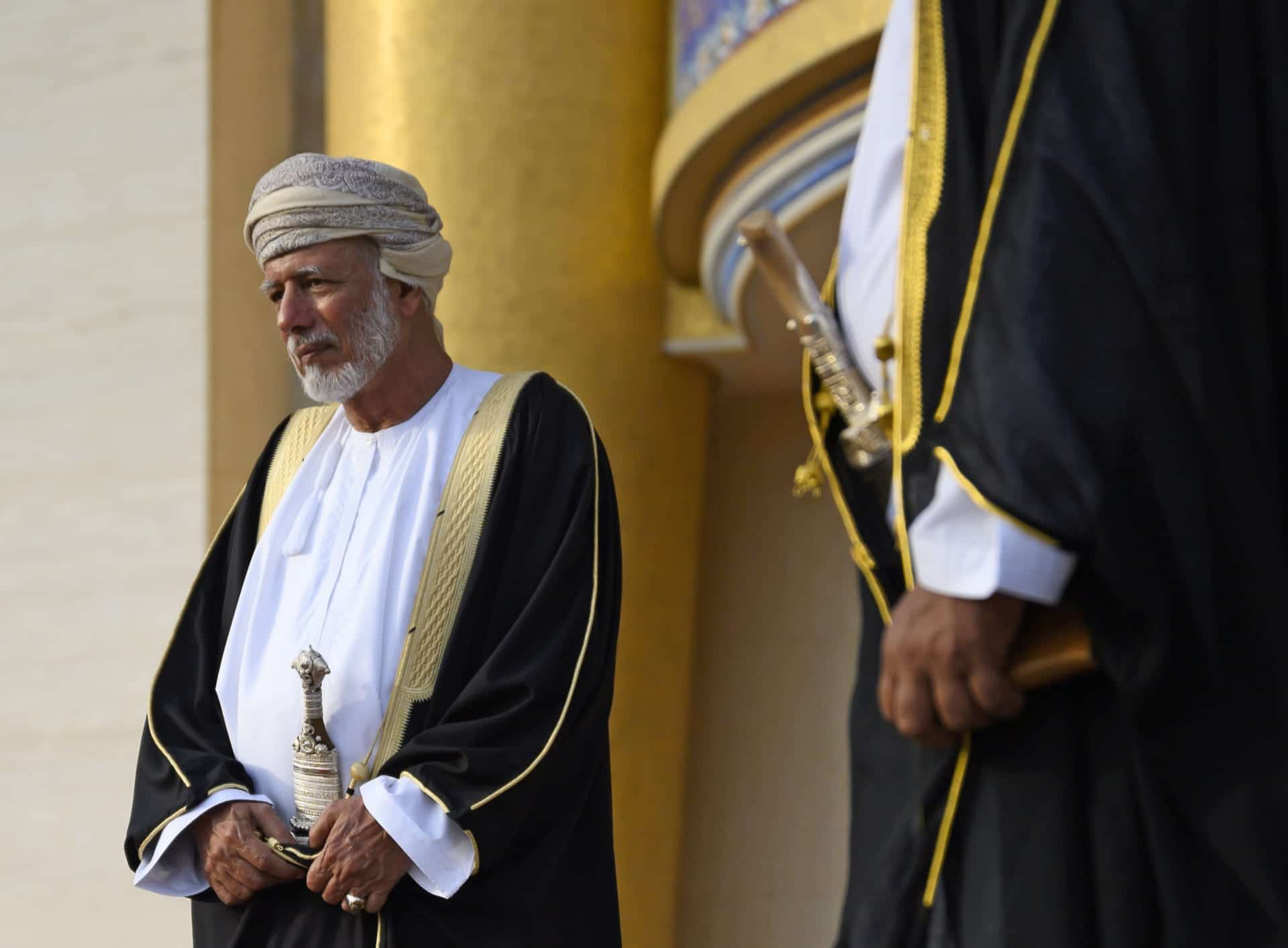 بن علوي وزير خارجية سلطنة عمان السابق
