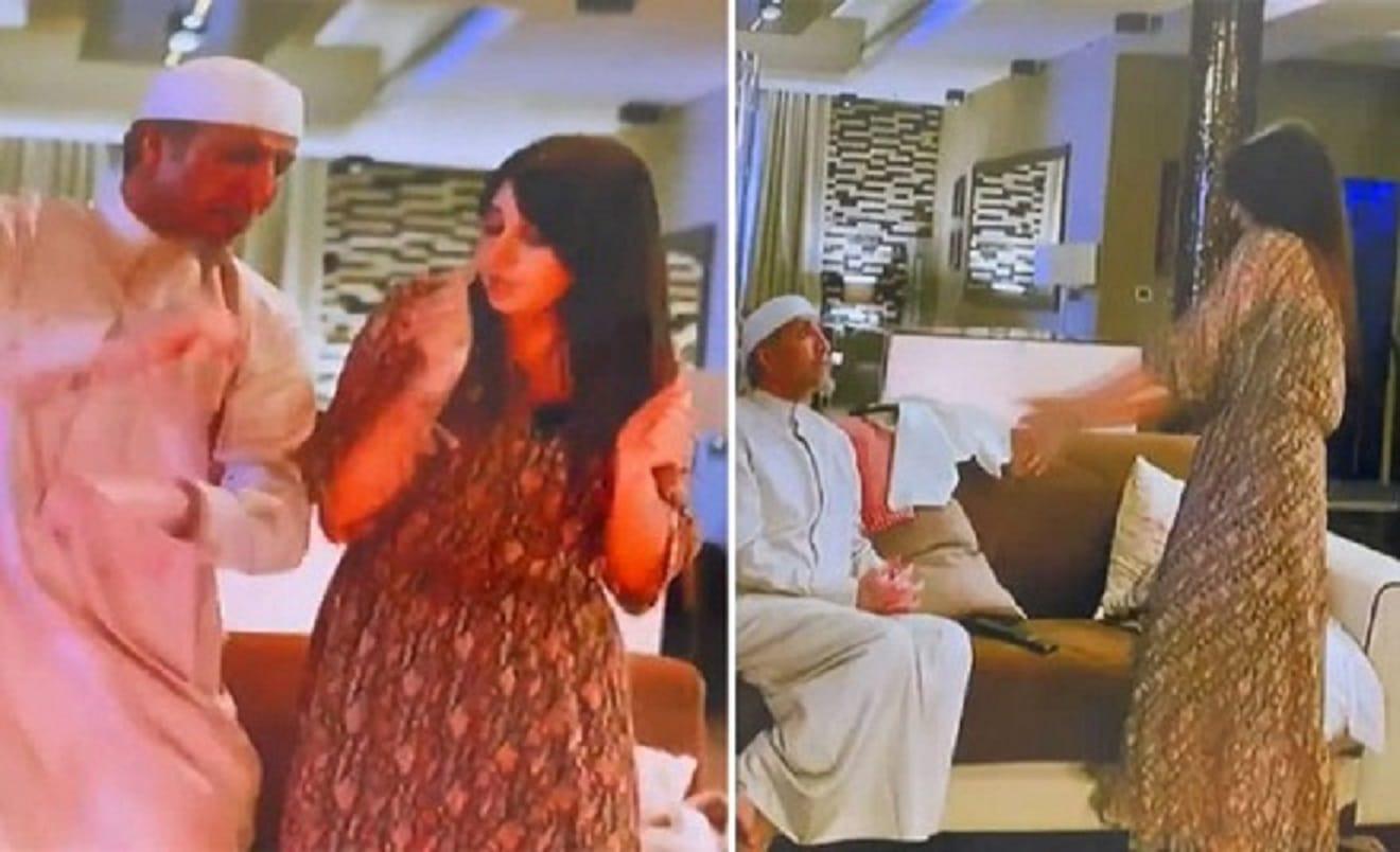 """""""لقمة العيش صعبة"""".. وصلة رقص لفايز المالكي وأسيل عمران تثير ضجة كبيرة!"""