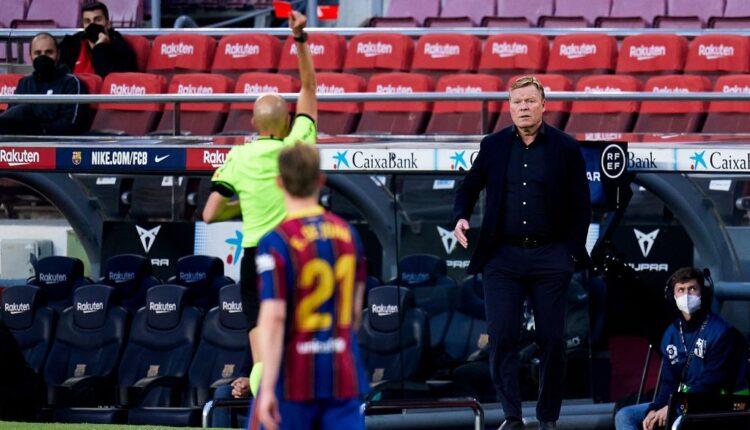 طرد المدرب الهولندي رونالد كومان