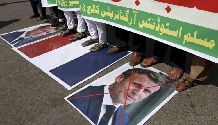 احتجاجات ضد فرنسا في باكستان