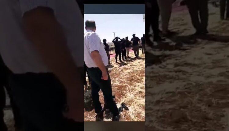 الشرطة الأردنية تهدم خيمة الاعتصام مع النائب أسامة العجارمة