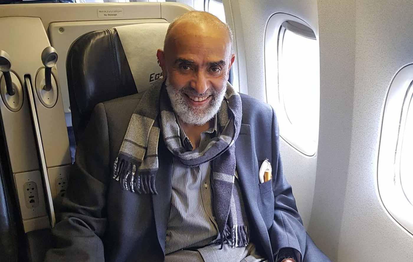 أشرف السعد يعود للقاهرة بعد ان سرق المصريين