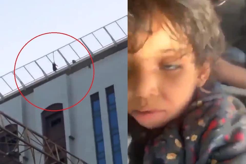 أم بالمدينة المنورة في السعودية تحاول شنق ابنتها