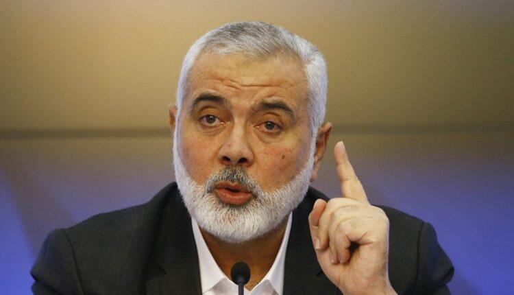 إسماعيل هنية يوجه رسالة إلى سلطنة عمان والكويت وقطر