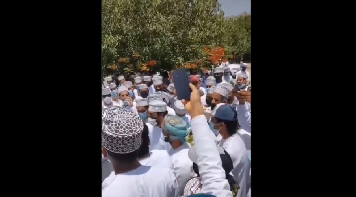 احتجاجات صحار
