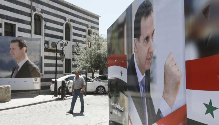الانتخابات السورية بشار الأسد