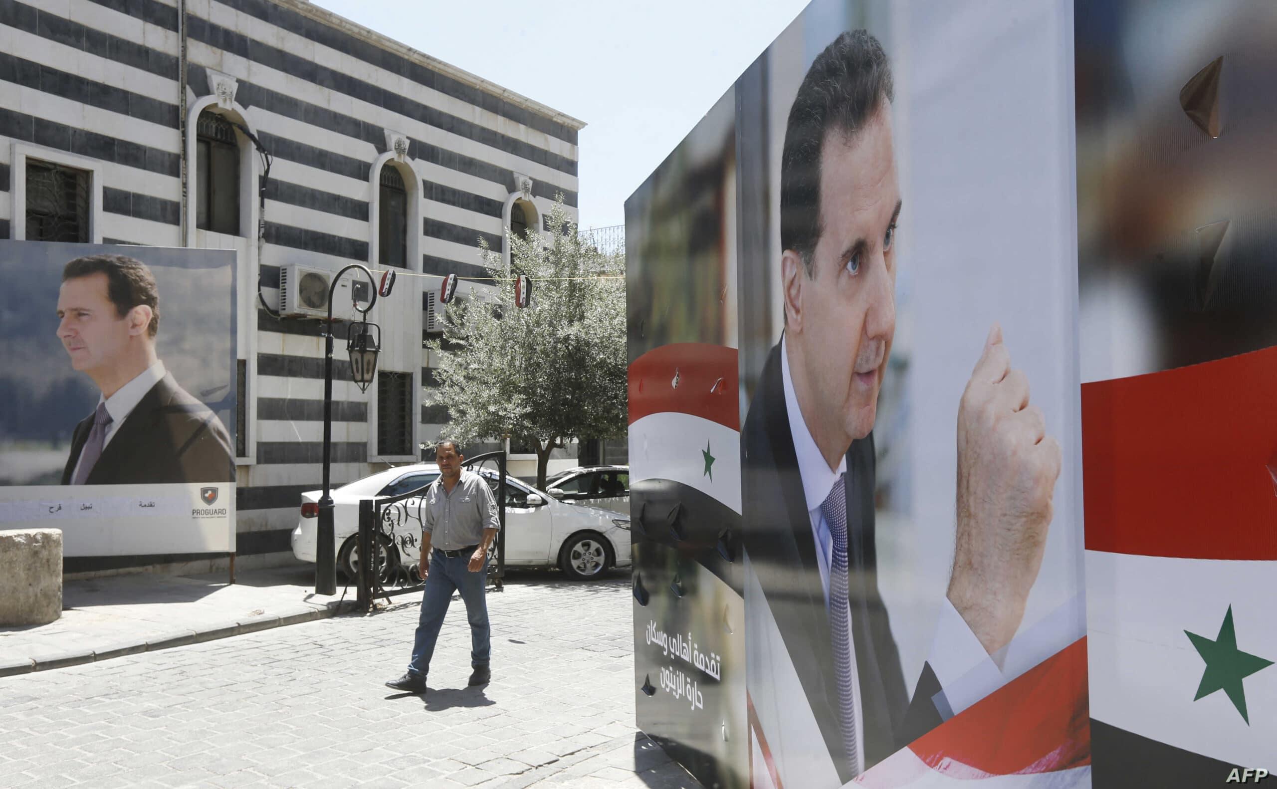 مسرحية الانتخابات السورية.. بشار الأسد ينافس نفسه على كرسي الرئاسة!