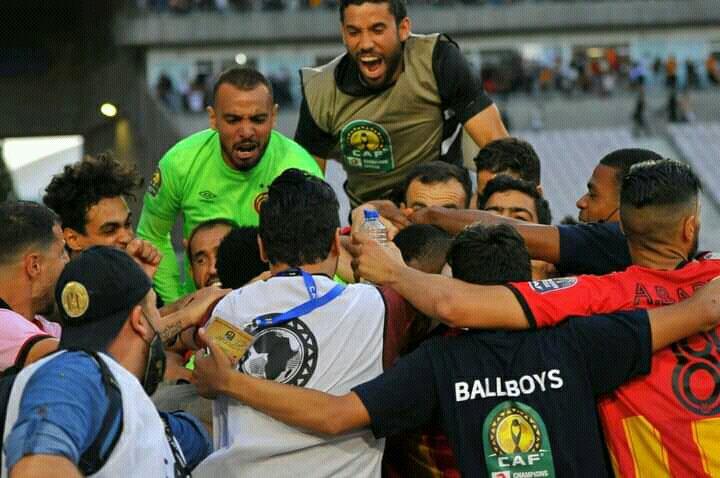 الترجي التونسي يفوز على منافسه بلوزداد الجزائري