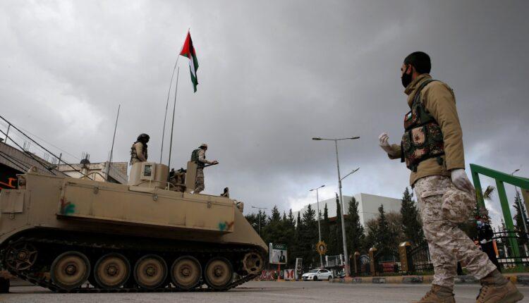 الجيش الأردني على حدود سوريا