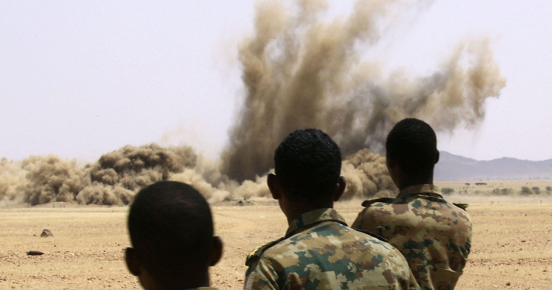 الجيش الاثيوبي والسوداني