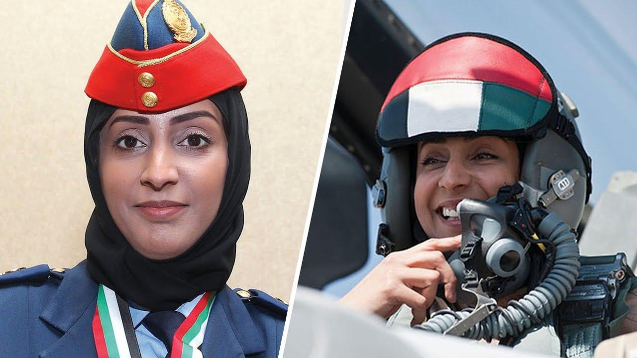 الطيار الاماراتية مريم المنصوري
