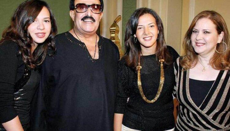 الفنان سمير غانم وأفراد عائلته