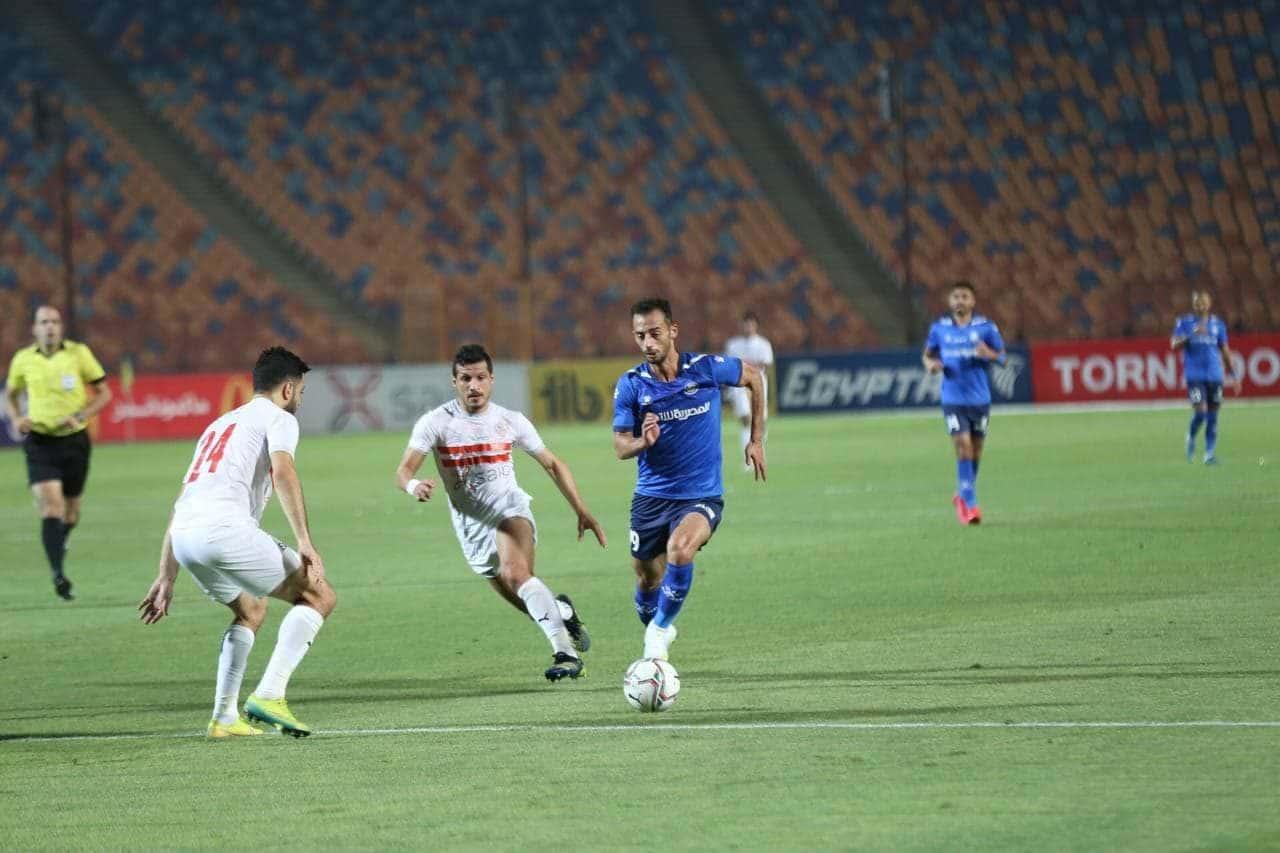 بالصور: لاعب مصري يتضامن مع فلسطين بتجسيده شخصية حنظلة
