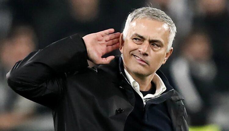 مورينيو وتدريب فريق روما الإيطالي