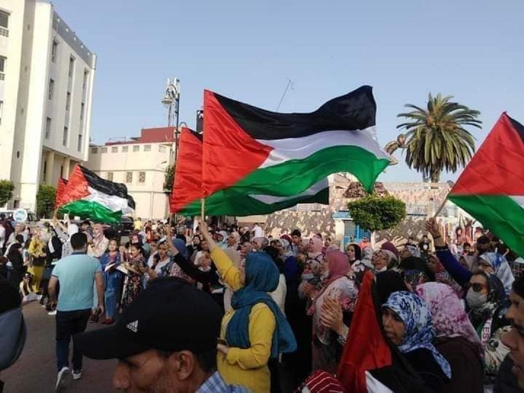 أغنية (رجاوي فلسطيني) تتصدر مواقع التواصل في المغرب دعماً للقدس وغزة