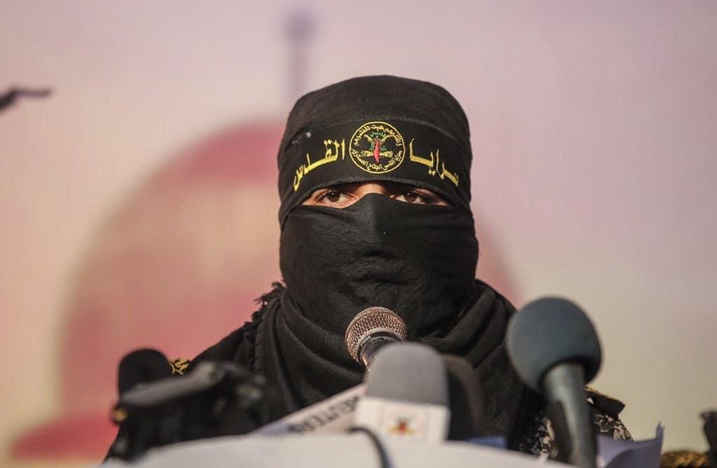 الناطق باسم سرايا القدس أبو حمزة