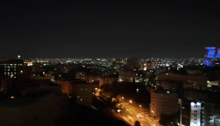 انقطاع التيار الكهربائي عن الأردن