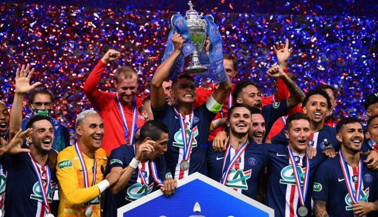 باريس سان جيرمان بطلاً لكأس فرنسا