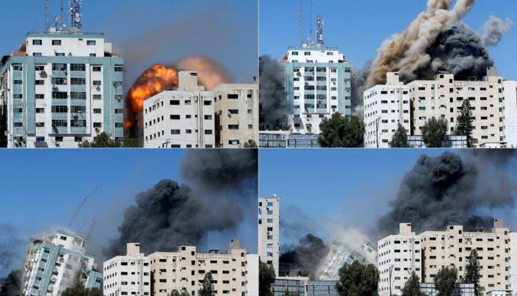 إسرائيل تزعم تواجد رجال حماس في برج الجلاء