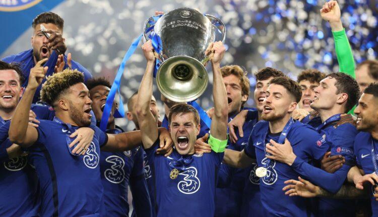 احتفالات فريق تشيلسي بلقب أبطال أوروبا