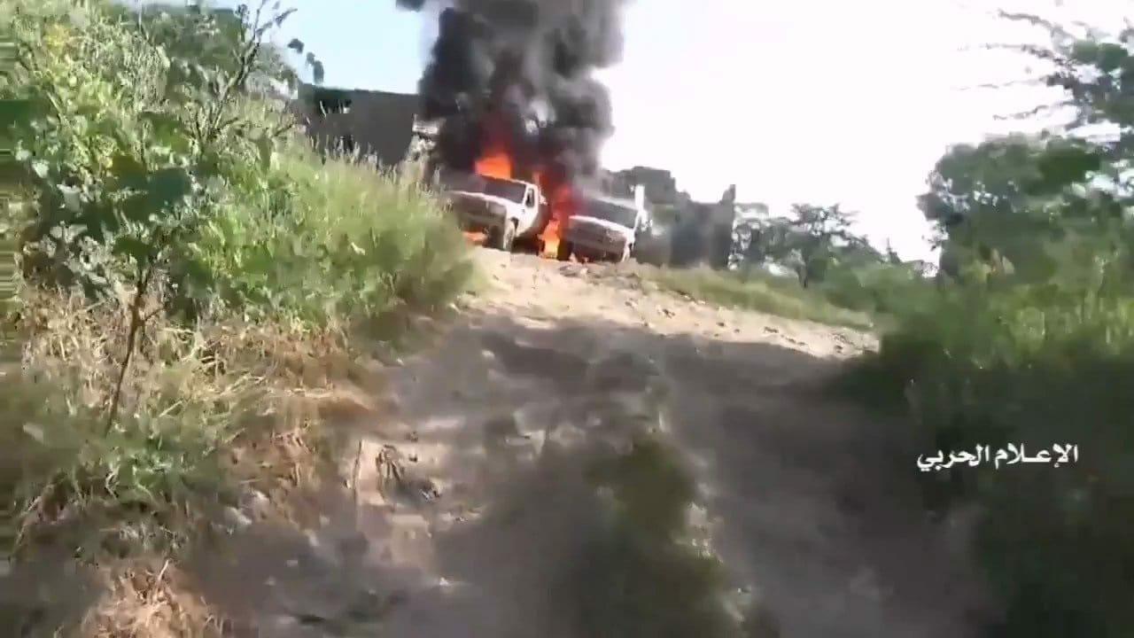 الحوثي يبث مشاهد جديد عن معركة جازان
