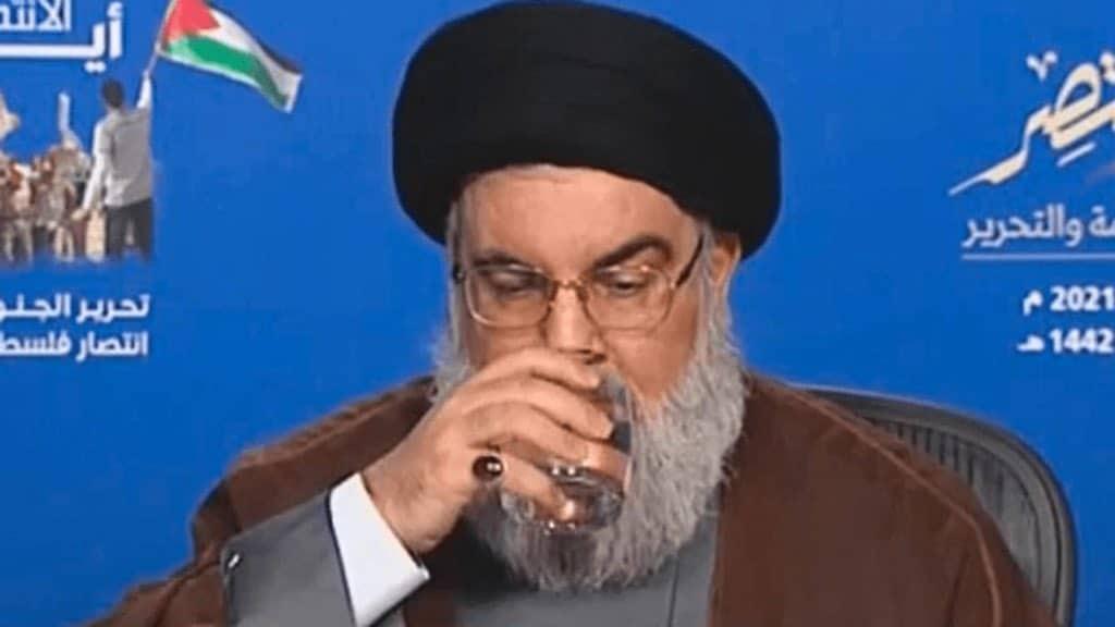 حسن نصرالله يثير التكهنات حول صحته في خطابه الأخير: هل هو مصاب بكورونا؟!