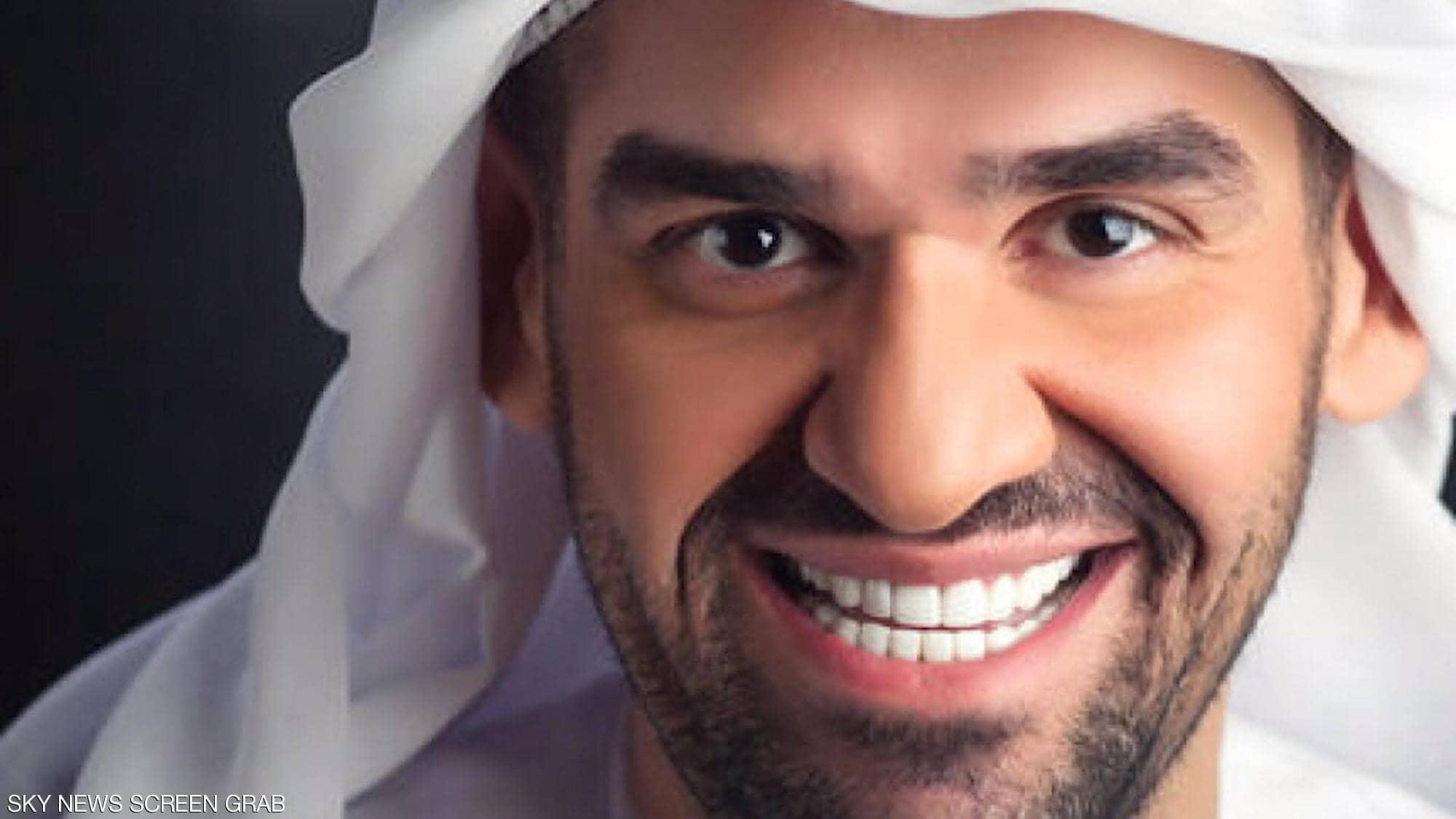 شاهد ماذا حدث للفنان حسين الجسمي .. صورته بعد تجميل أنفه وإطالة شعره تثير جدلاً!