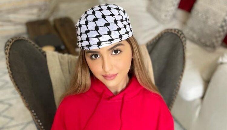 حلا الترك تتضامن مع فلسطين