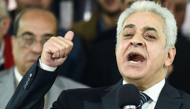 حمدين صباحي يدعو السيسي لضرب سد النهضة
