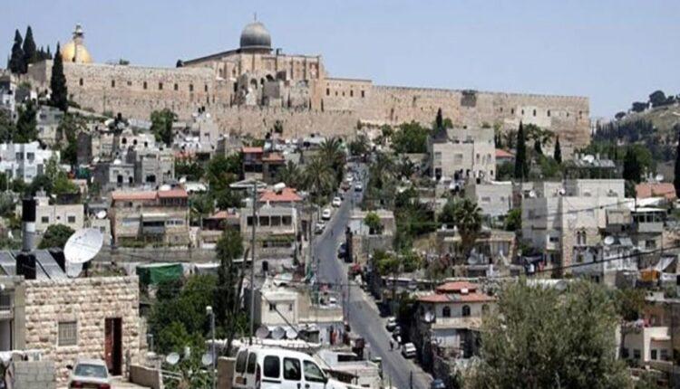 حي سلوان في القدس المحتلة