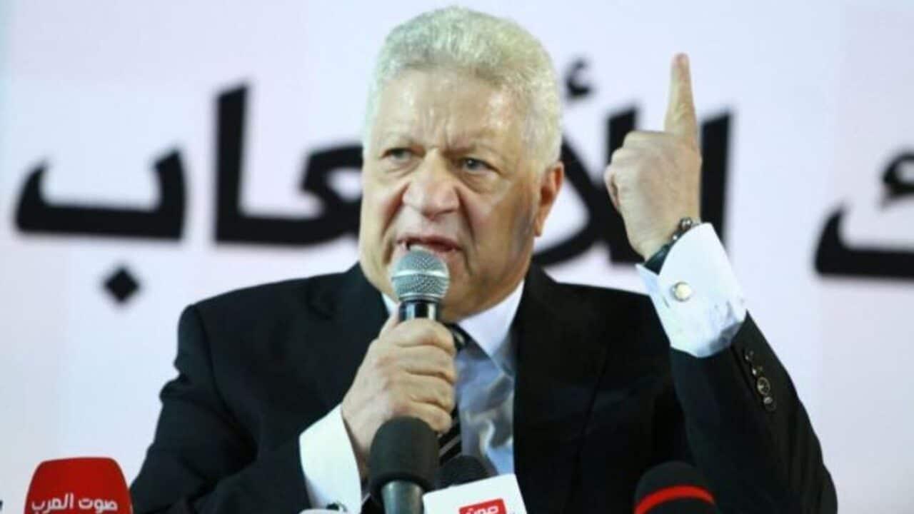 محكمة مصرية تقرر تأجيل قرار طعن مرتضى منصور على حل مجلس إدارته