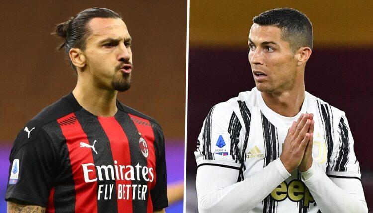رونالدو وإبراهيموفيتش والصراع على مقعد دوري أبطال أوروبا