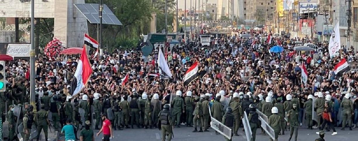 قتلى واصابات في احتجاجات ساحة التحرير
