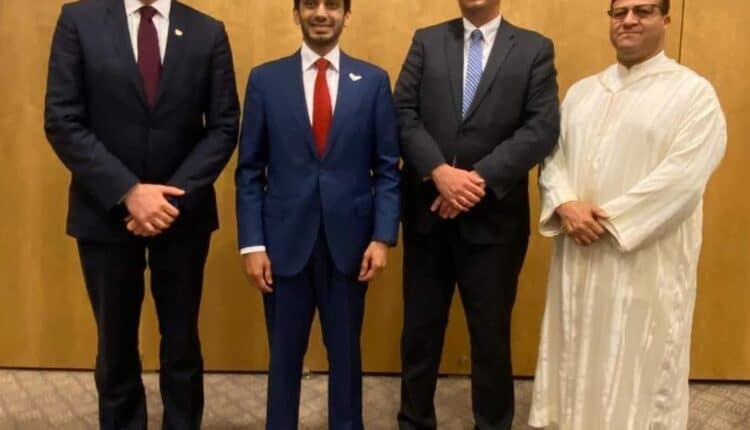 سفيرا الإمارات والمغرب في إسرائيل في افطار مع يهود والأقصى يشتعل