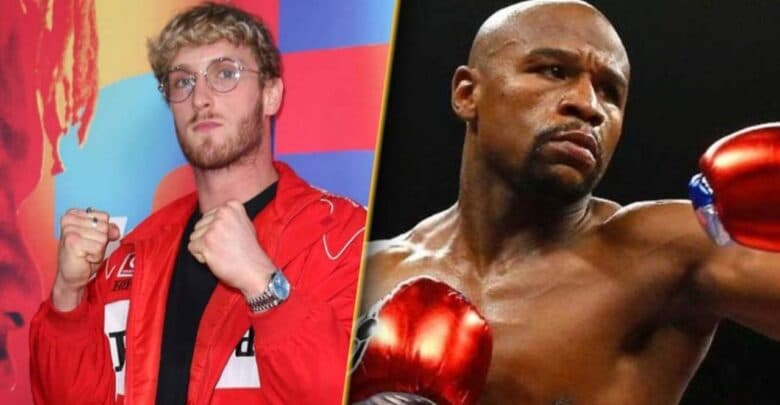 شجار بين بطل الملاكمة مايويذر وبول لوغال