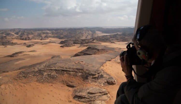 اكتشافات أثرية في صحراء السعودية