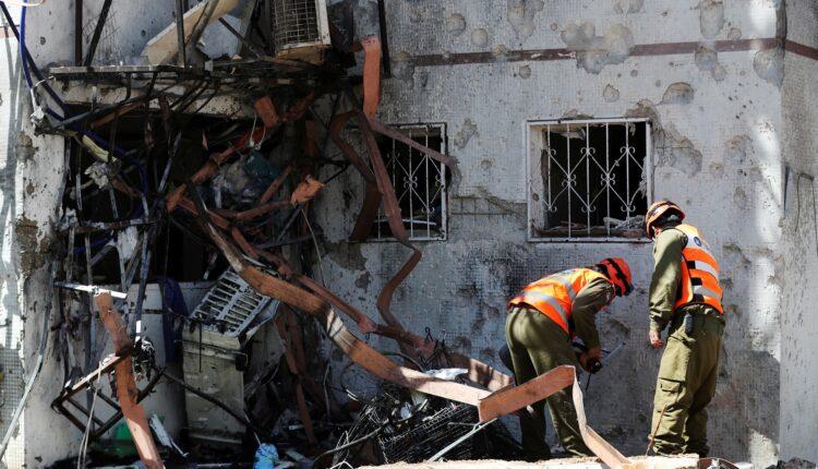 صواريخ حماس تضرب إسرائيل