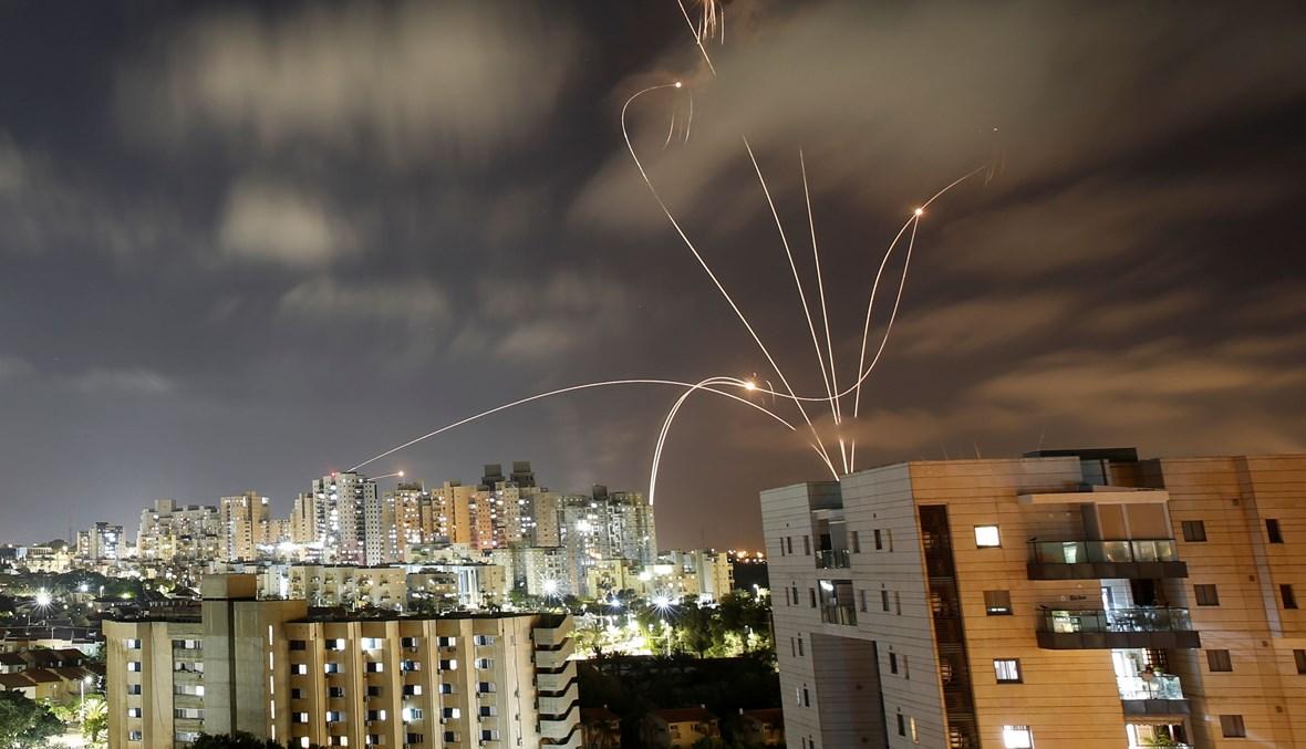 صواريخ المقاومة في غزة تضرب إسرائيل