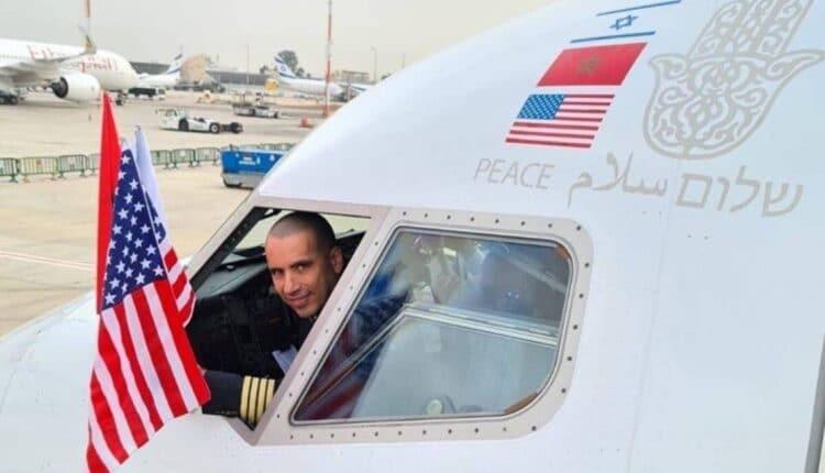 طائرة إسرائيلية في المغرب