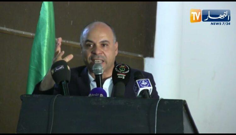 عيسى بلهادي رئيس جبهة الحكم الجزائري