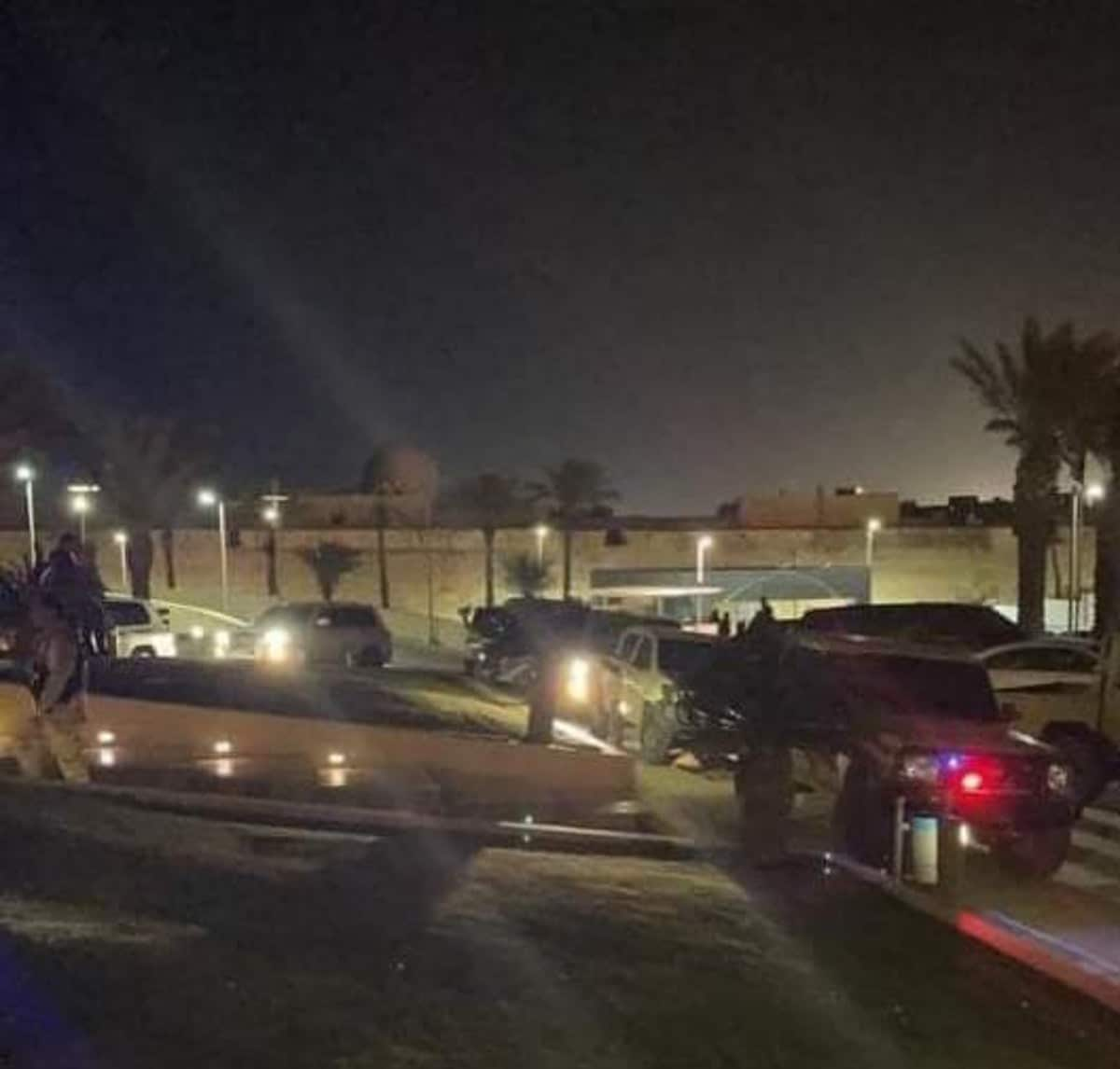 اقتحام فندق كورنثيا في طرابلس