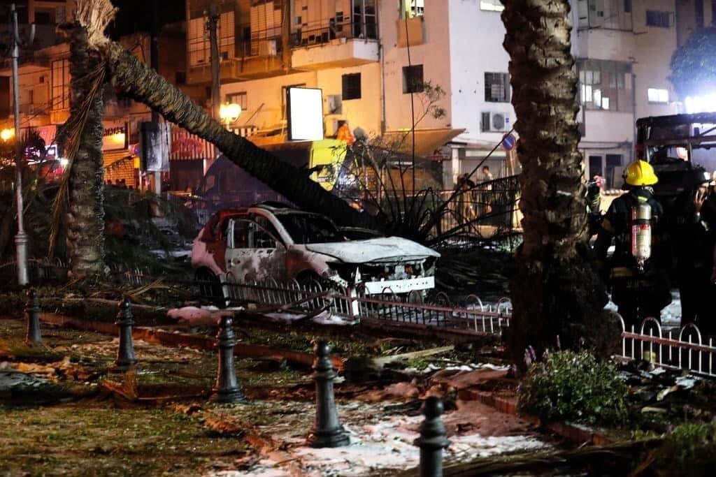 صواريخ المقاومة تحرق تل أبيب