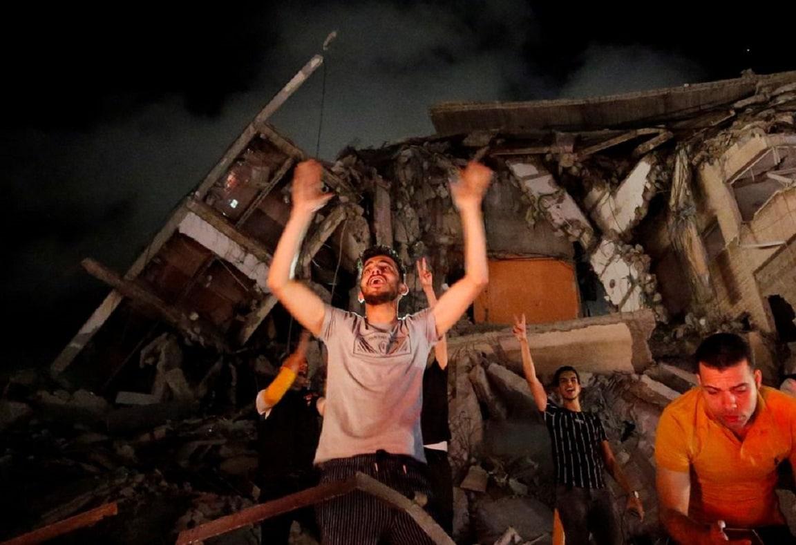 (تسونامي ضرب غزة) أهالي القطاع يصابون بالصدمة ولم يصدقوا ما شاهدوه بعد انتهاء العدوان