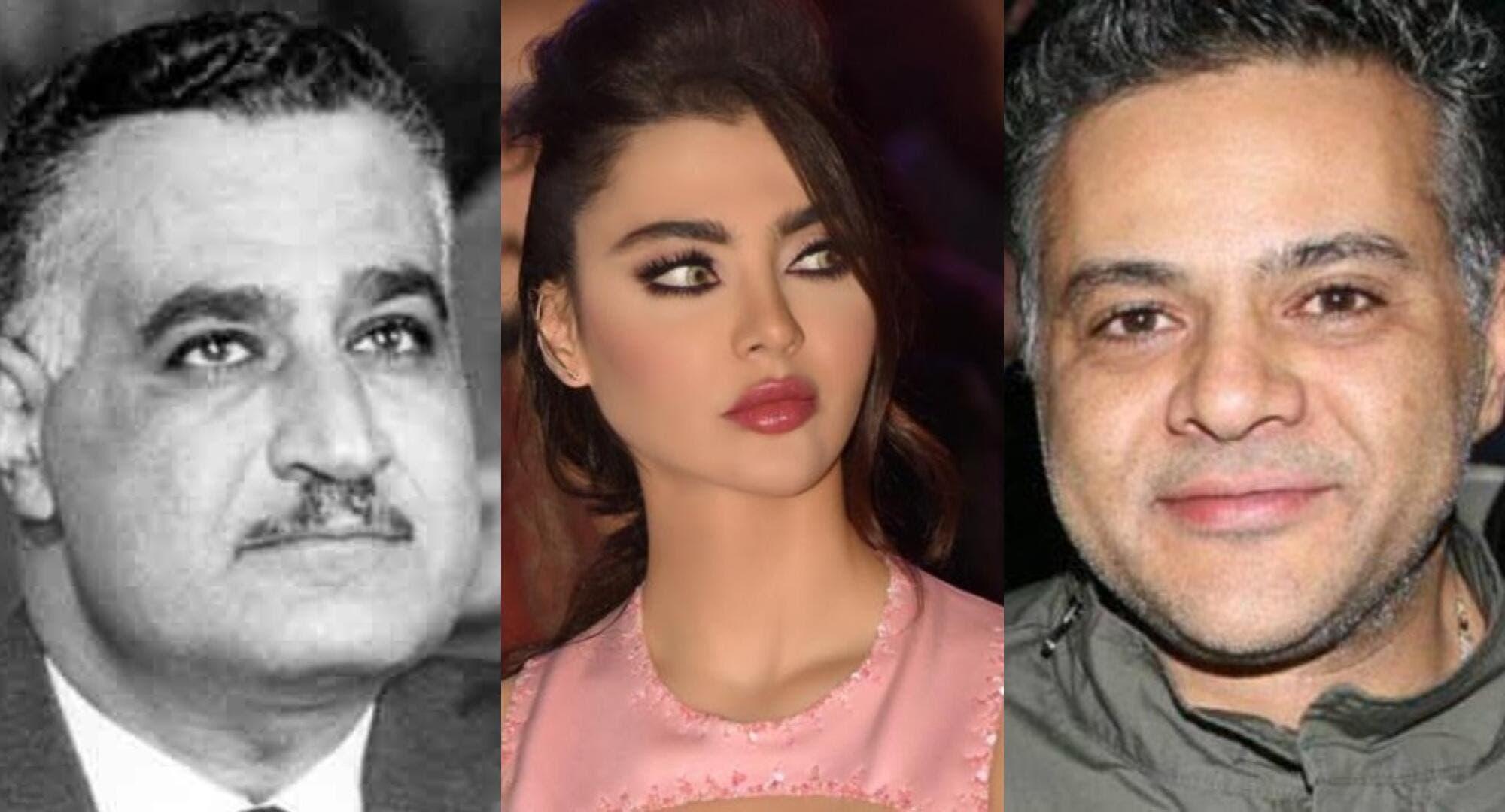 ما قصة الصورة التي نشرتها قمر اللبنانية لجمال عبدالناصر وتخصّ ابنها الذي أنجبته سراً!؟