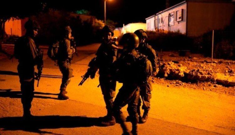 قوات الاحتلال في نابلس