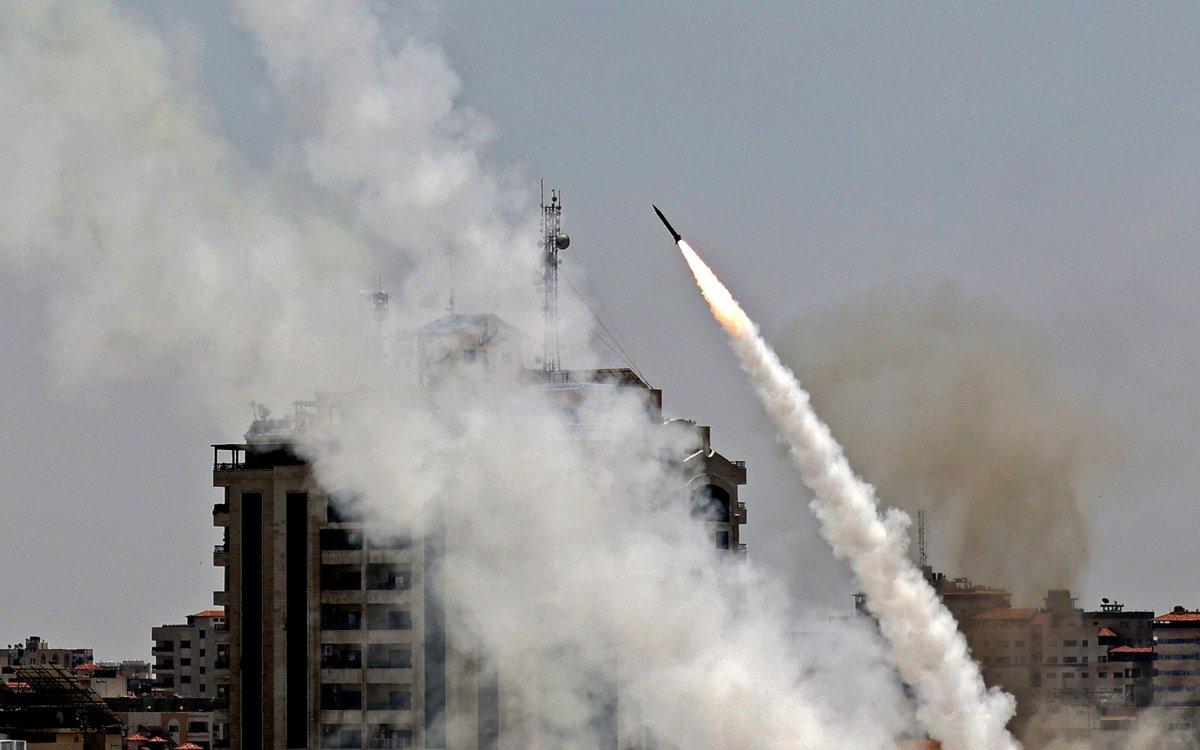 كتائب القسام اعلنت قصف القدس بصواريخ من طراز A120