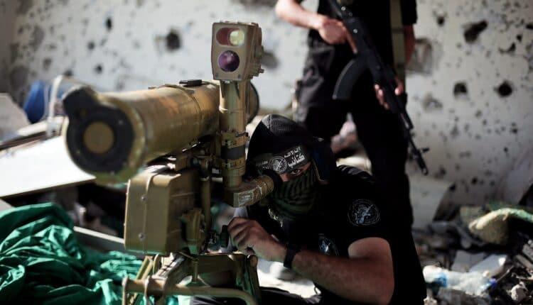 كورنيت كتائب القسام يضرب جيب اسرائيلي على حدود غزة