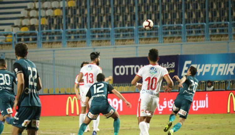 الزمالك يفوز على إنبي وينفرد في ترتيب الدوري المصري